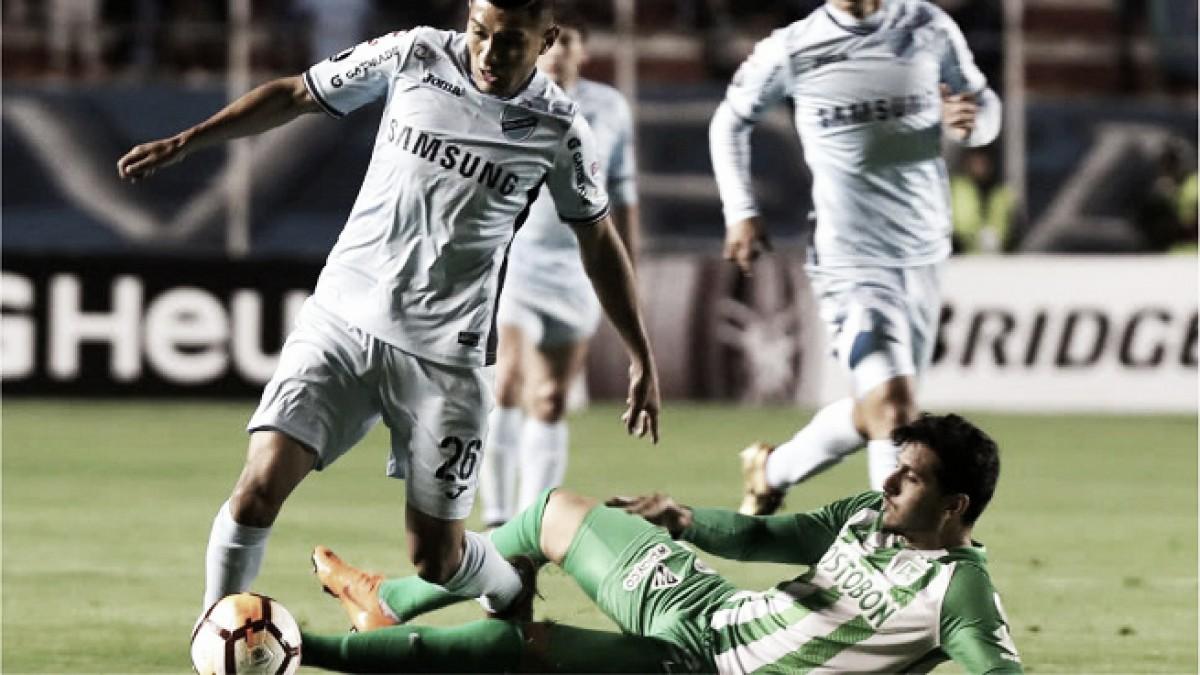 Atlético Nacional lo intentó en la altura de La Paz, pero terminó derrotado por la mínima diferencia
