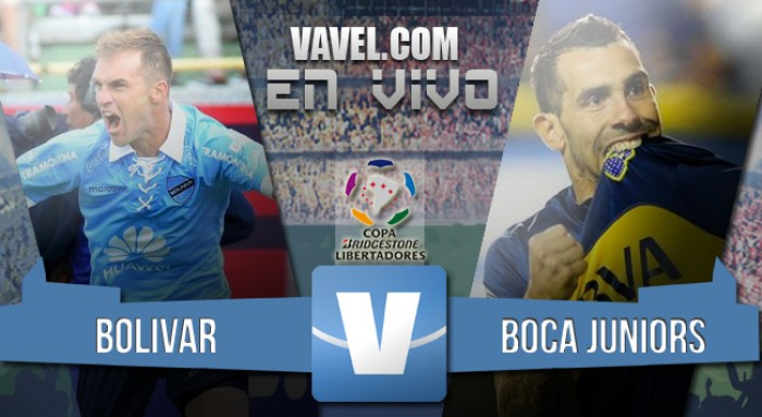 Bolívar 1-1 Boca: valioso empate en la altura