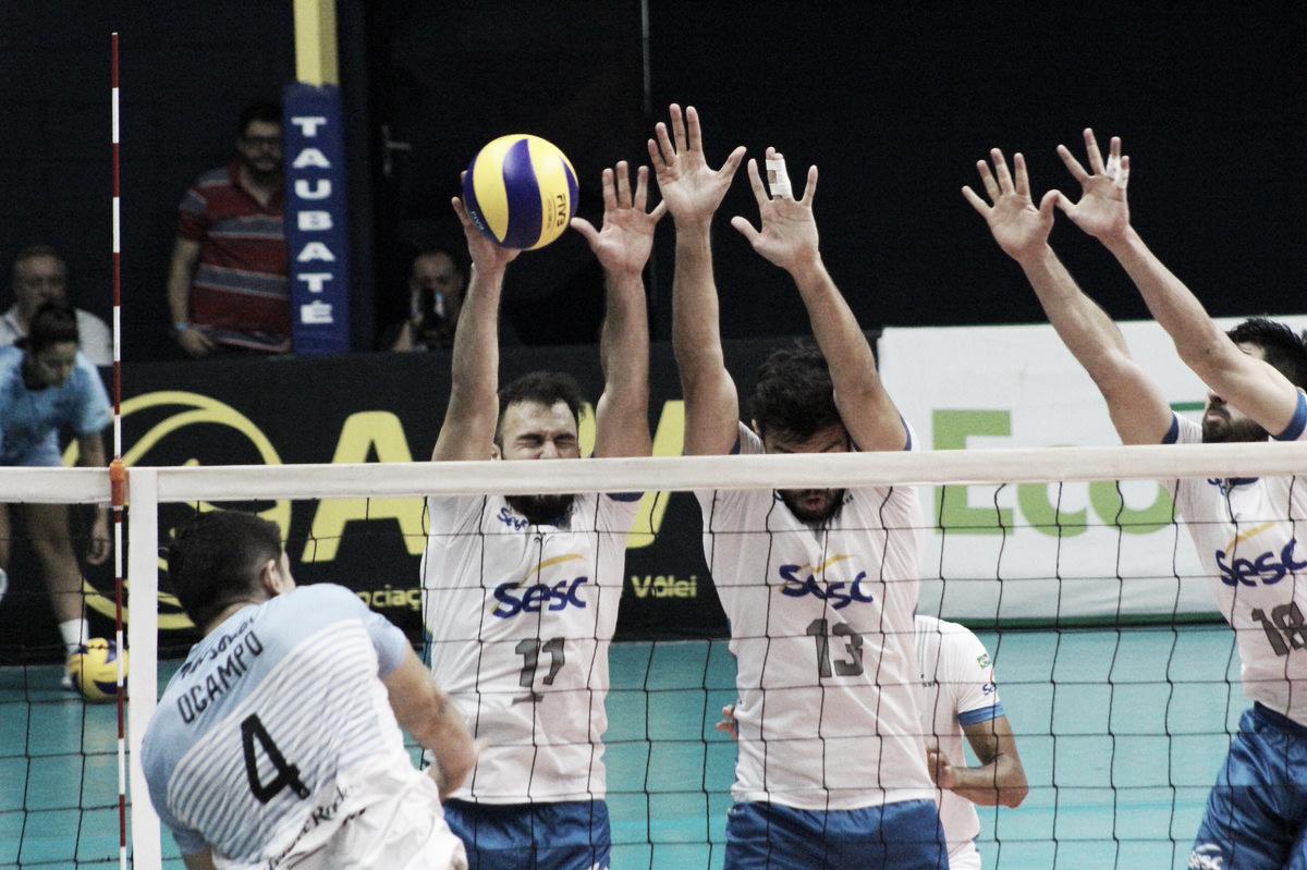 Em alto nível, Bolívar derrota Sesc-RJ e conquista Libertadores