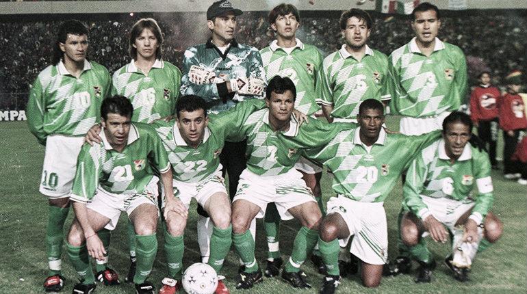 Selección de Bolivia: sola ante los poderosos