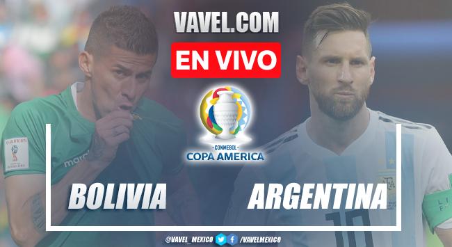 Goles y resumen del Bolivia 1-4 Argentinaen Copa América 2020