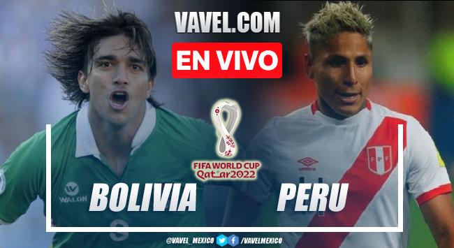 Gol y resumen del Bolivia 1-0 Perú en Eliminatorias CONCACAF 2022