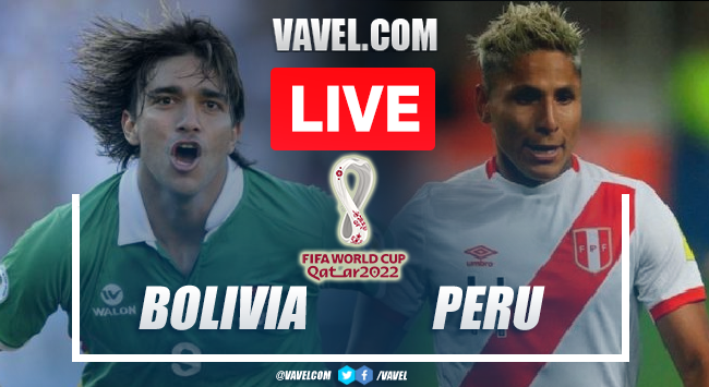Goals and Highlights: Bolvia 1-0 Peru in World Cup Qualifiers 2022