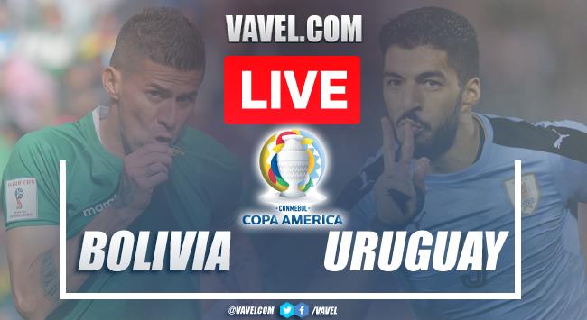 Goals and Highlights Bolivia 0-2 Uruguay in Copa America