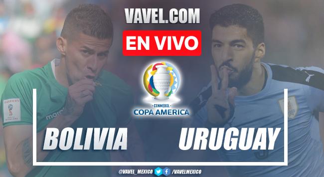Goles y resumen del Bolivia 0-2 Uruguay en Copa América