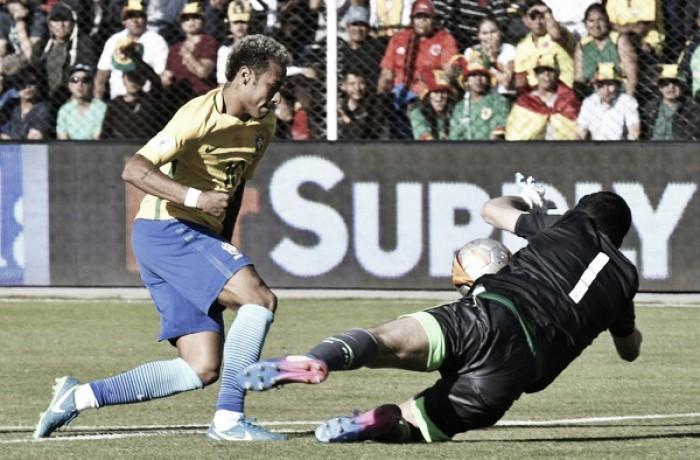 Bolivia y Brasil empatan sin goles en La Paz