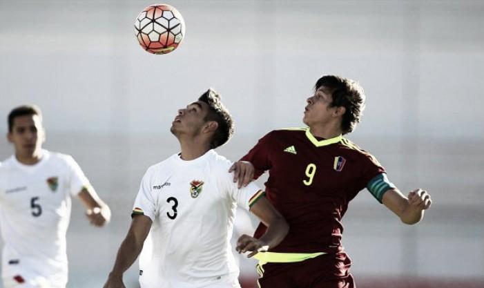 Venezuela-Bolivia: Puntuaciones Venezuela por el Sudamericano Sub-20