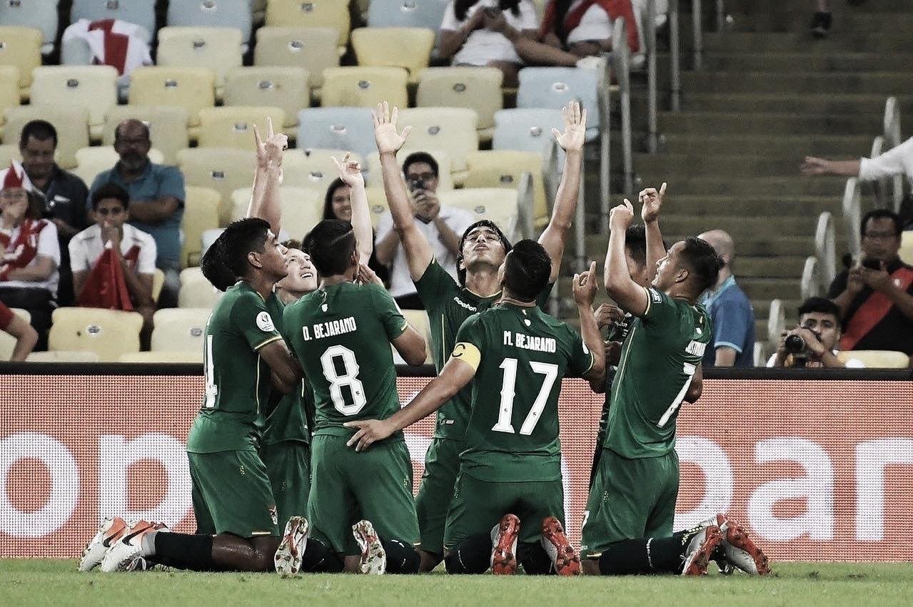 Resultado Bolívia 1 x 3 Venezuela na Copa América 2019