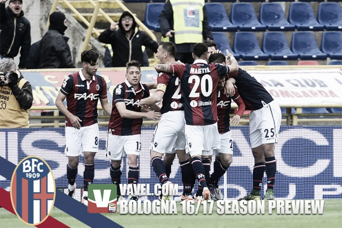 Bologna 2016/17 Serie A season preview: A young squad with progression in sight