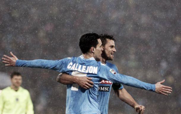 """Napoli, Callejon e Maggio in coro: """"Dobbiamo continuare così, è la strada giusta"""""""