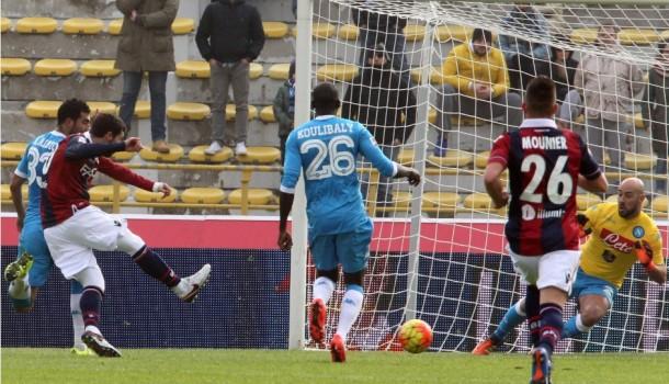 Napoli, che rimpianti! Sconfitta a Bologna per 3-2 con un Higuain epico nel finale
