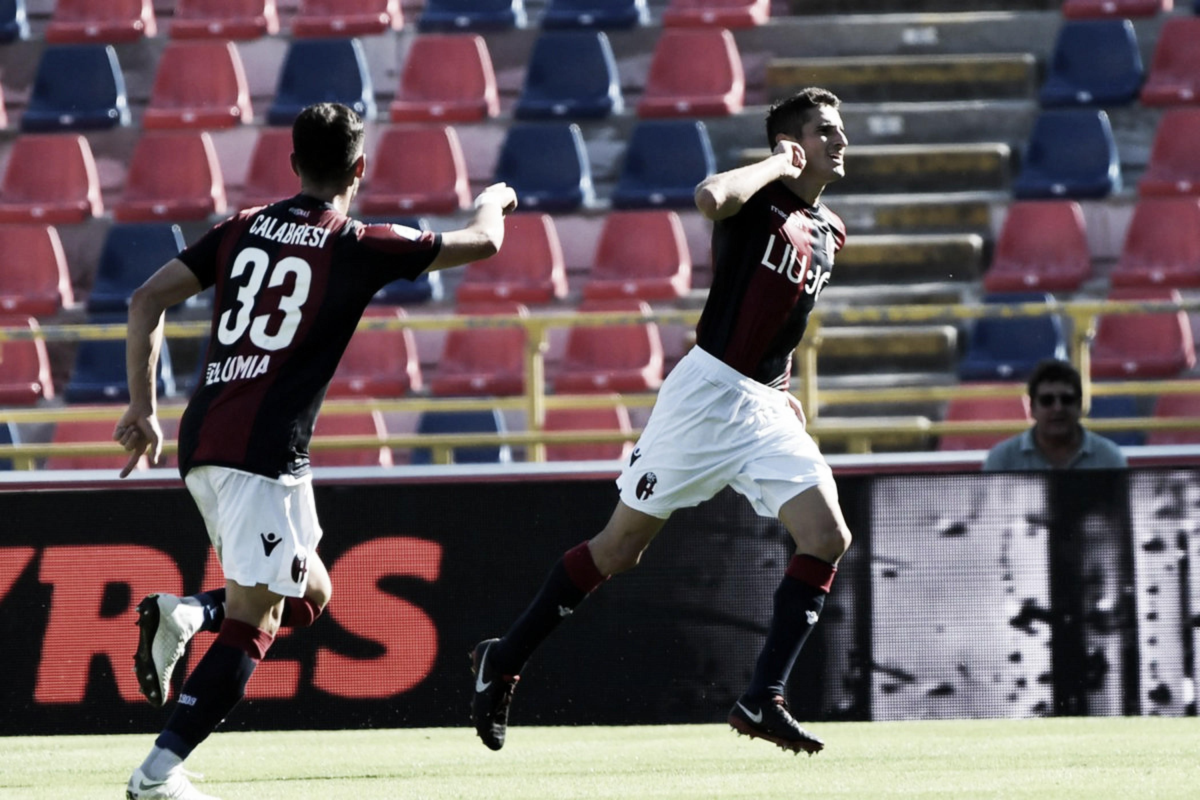 Bologna aproveita falta de inspiração da Roma e vence primeira na Serie A