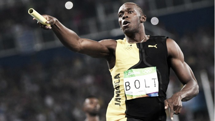 "Rio 2016: Usain Bolt is ""the greatest"" after winning his third gold of the Games"