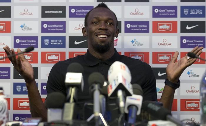 Atletica, Diamond League - Londra: il rientro di Bolt
