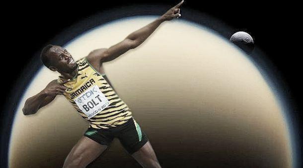 Usain Bolt y los cuerpos mundo