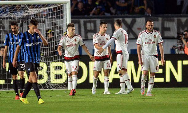 Il Milan chiude la pessima stagione con una vittoria: 3-1 sul campo dell' Atalanta
