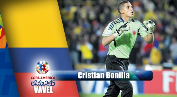 Camino a Chile 2015: Cristian Bonilla