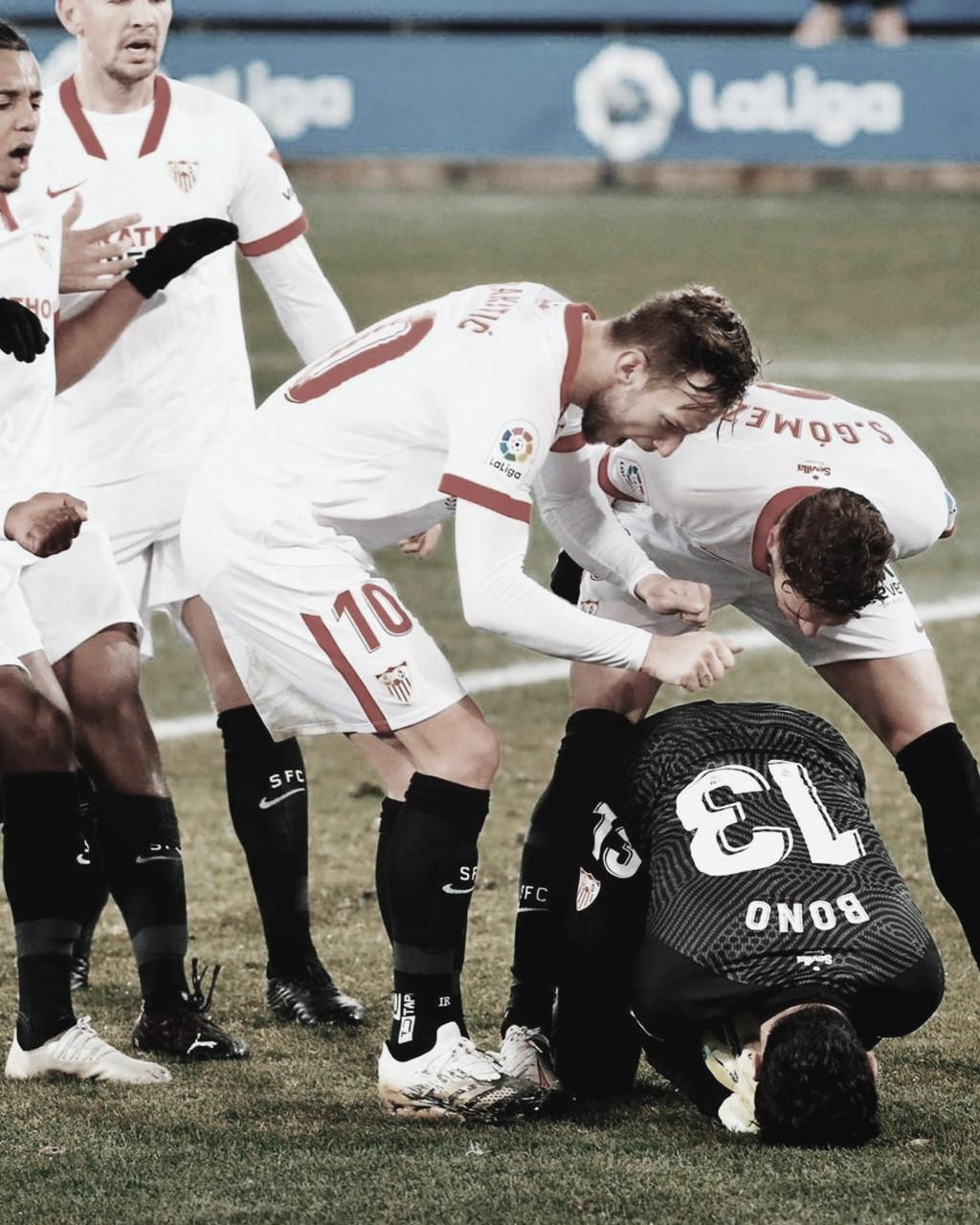 Un Sevilla imbatible en la Copa del Rey