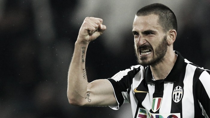 Bonucci out for three days