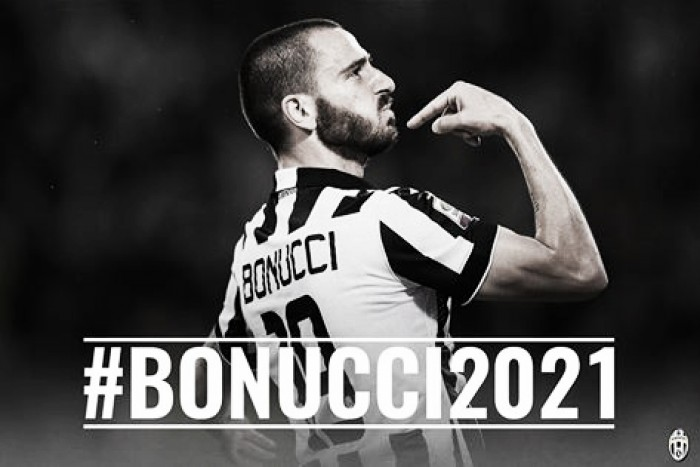 Juventus, Bonucci rinnova fino al 2021