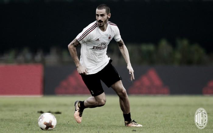 """Milan, Bonucci: """"Qui per scrivere un'altra pagina della storia di questo club"""""""