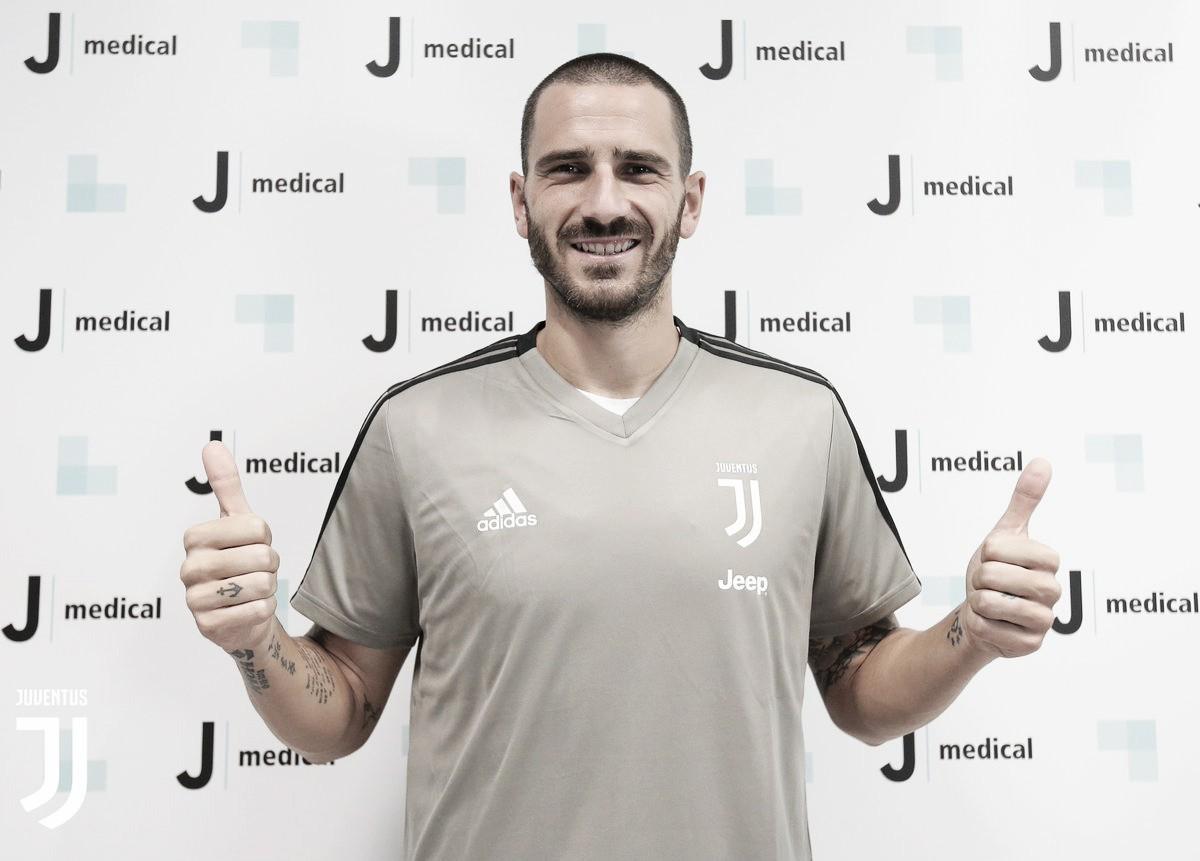 Por Bonucci, Juventus cede Caldara e Higuaín ao Milan
