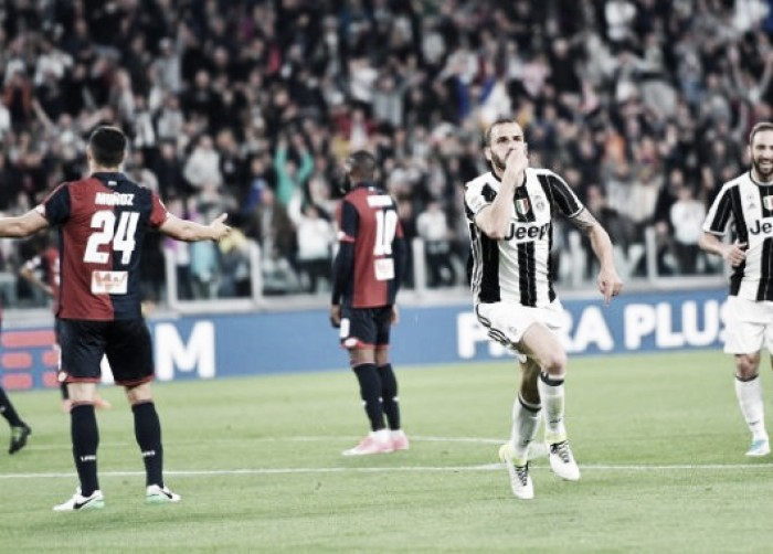 Dybala lideró a la Juventus contra el Genoa