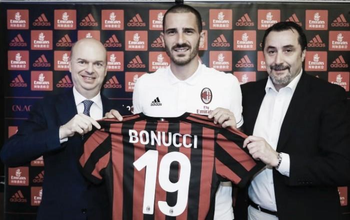 Bonucci, la presentazione ufficiale: