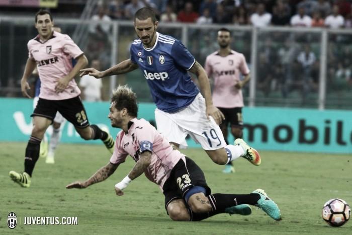 """Bonucci critica atuação da equipe após vitória contra Palermo: """"Não foi a Juventus de verdade"""""""