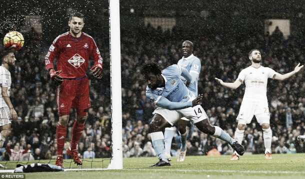 Manchester City 2-1 Swansea City: Late heartbreak for resilient Swans