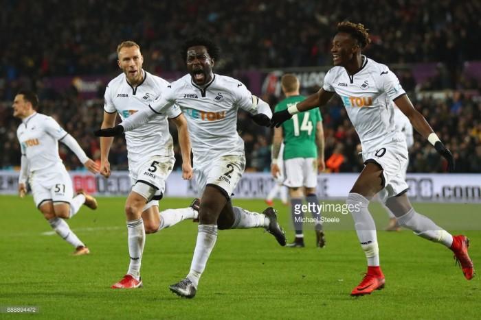 Swansea City 1-0 West Bromwich Albion: Bony strike hands Swans huge victory