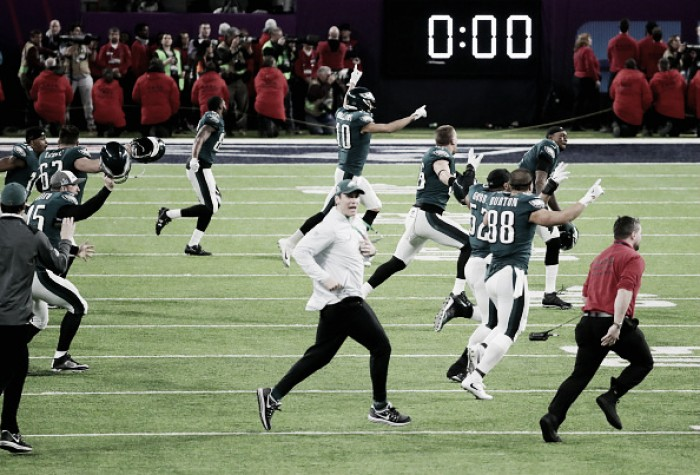 Nick Foles brilha, Eagles superam Patriots e conquistam Super Bowl pela primeira vez
