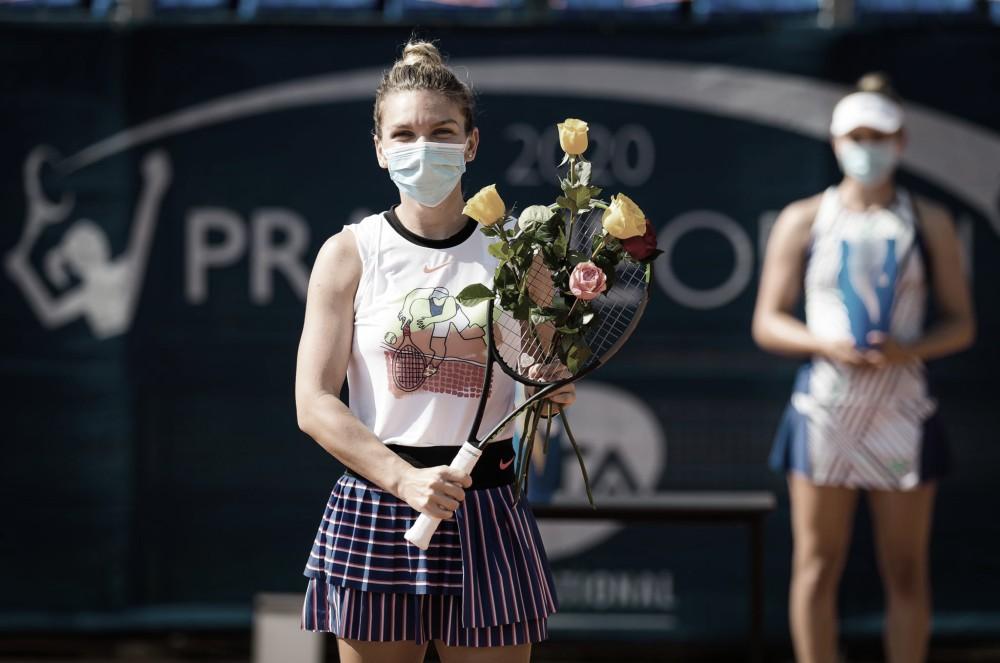 Simona Halep, campeona del Abiertode Praga