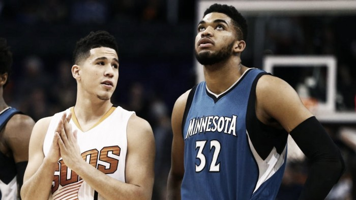 NBA - il futuro e il presente dell'ovest si chiama Towns, Booker e Jokic