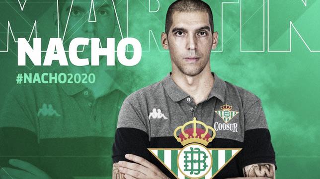 Nacho Martín, experiencia para el Coosur Real Betis