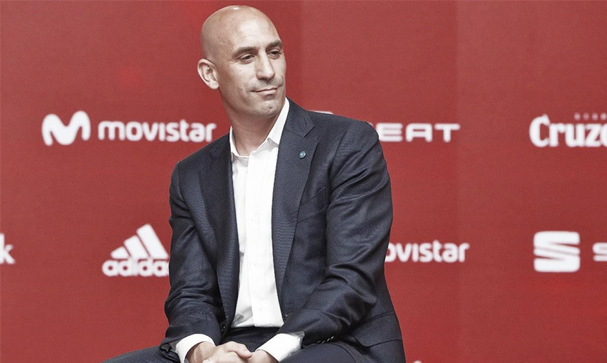 """Luis Rubiales: """"Luis Enrique pondrá a la selección donde se merece"""""""