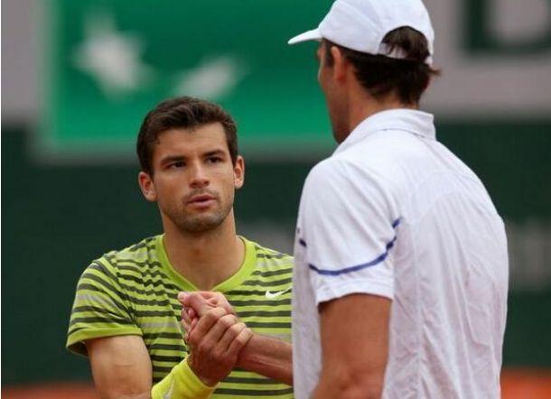 Dimitrov é eliminado na estreia e Haas e Almagro desistem em Roland Garros