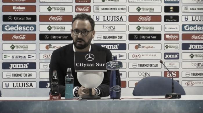 """Bordalás: """"El equipo siguió insistiendo y tuvimos opción de ganar"""""""