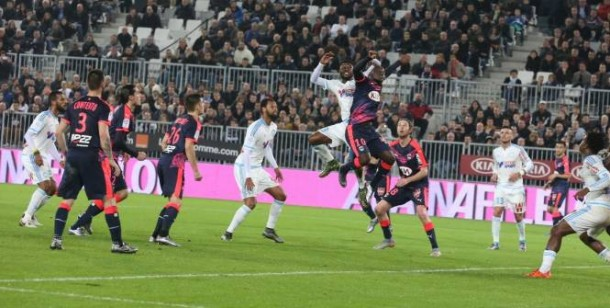 Bordeaux accroché par Marseille à domicile