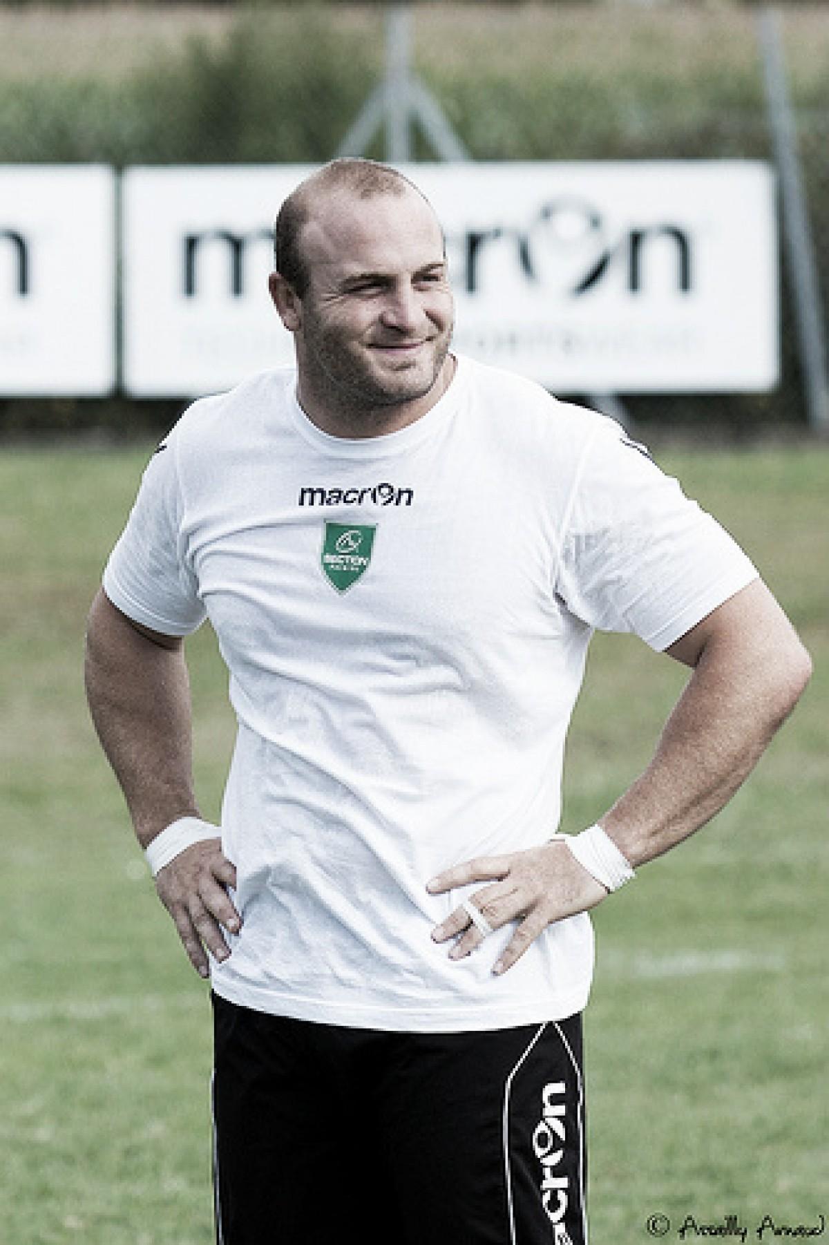 Andres Bordoy muy cerca del staff de Jaguares