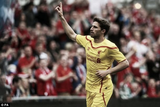 Fabio Borini's agent eyeing talks over striker's Liverpool future