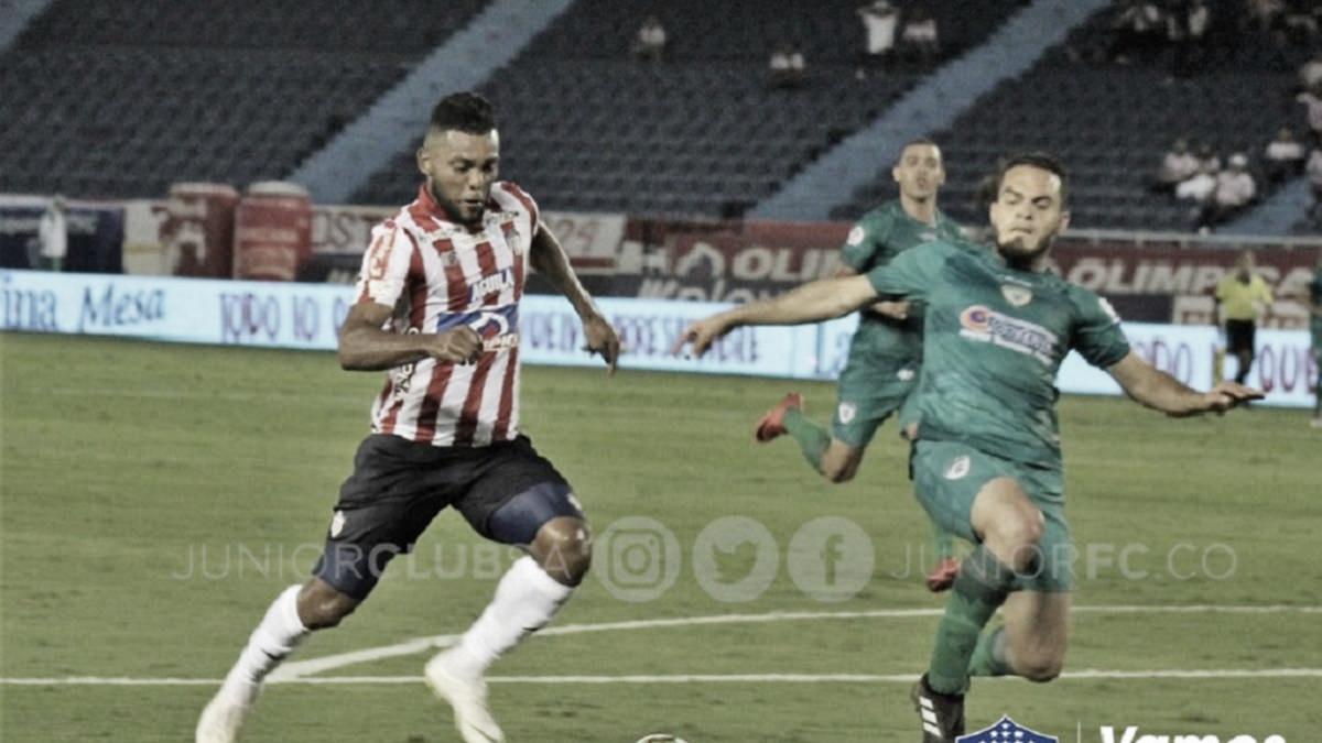 Miguel Ángel Borja debutó con gol y enamoró a la afición barranquillera