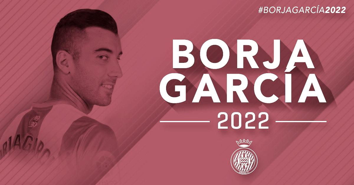 Borja García renueva hasta 2022