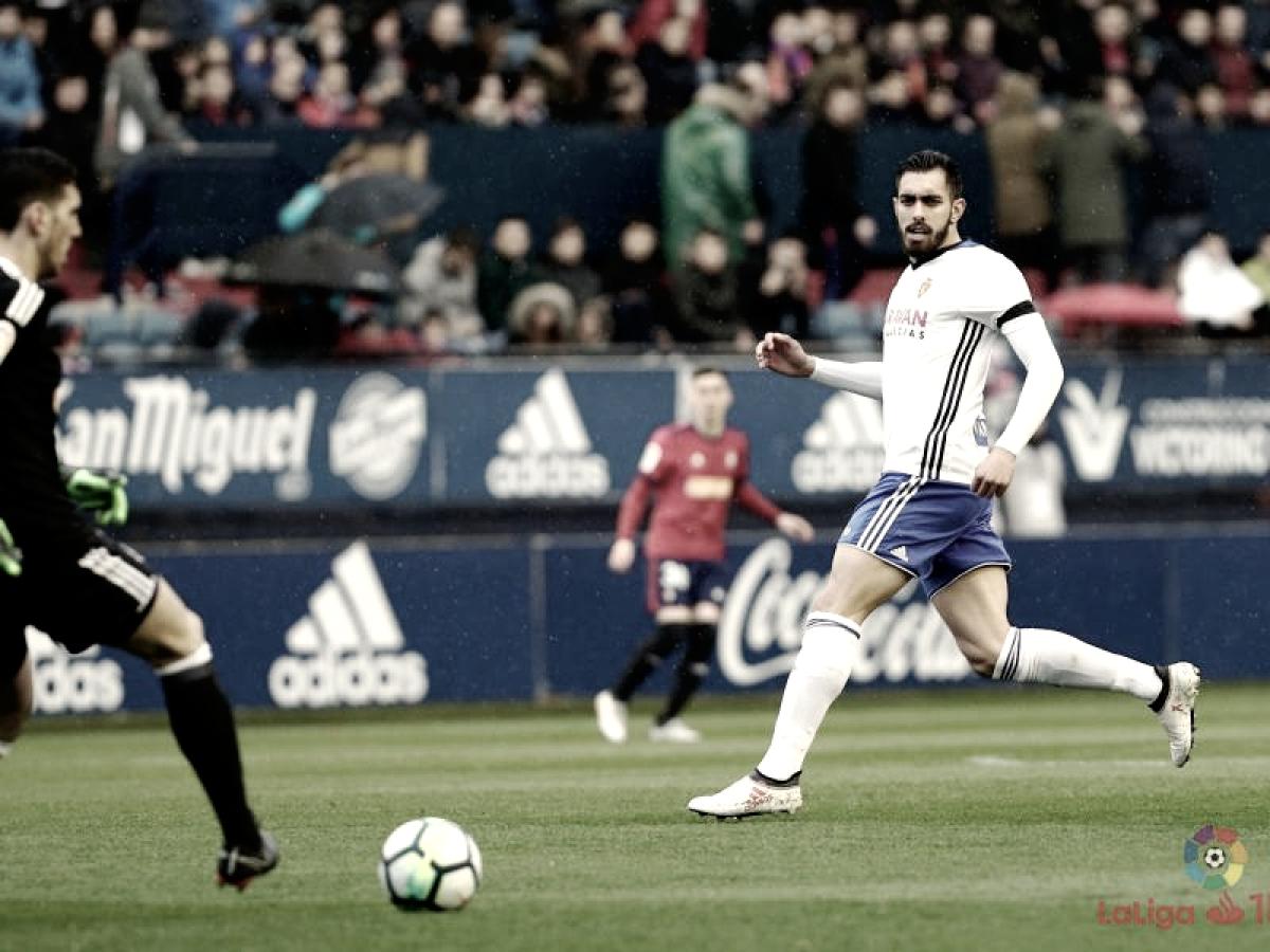 """Borja Iglesias: """"Venir a este campo y ganar da aún más moral de la que teníamos"""""""