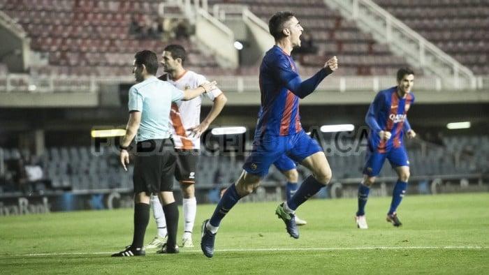 Borja López saborea de nuevo el gol después de años sin hacerlo