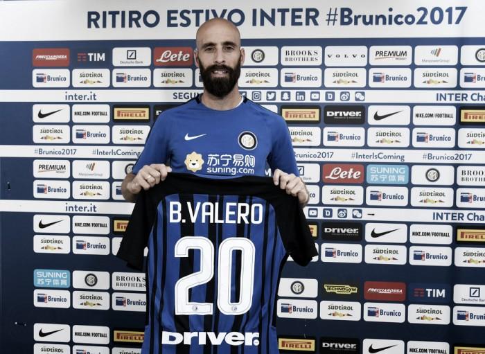 Internazionale oficializa contratação do meia Borja Valero, ex-Fiorentina