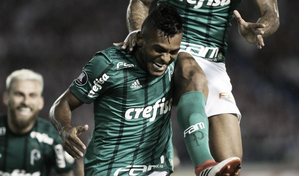 De reserva a artilheiro  o renascimento de Miguel Borja no Palmeiras ... c8dd4bcc749dc