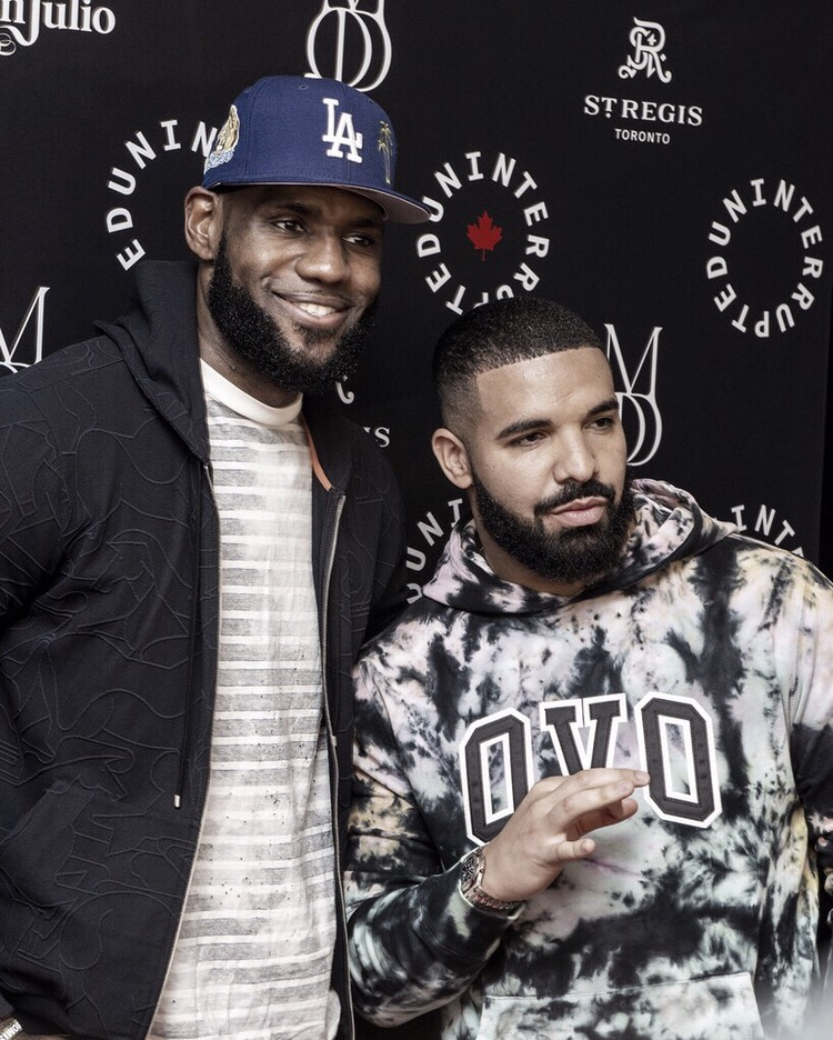 James y Drake llevan 'UNINTERRUPTED' a Canadá