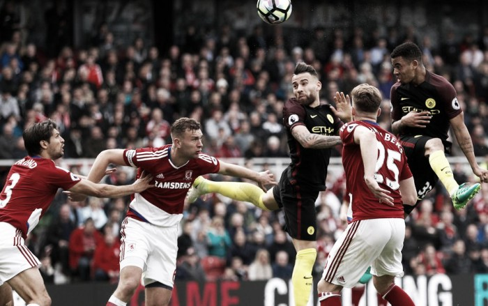 Premier League - Gabriel Jesus salva il City nel finale: 2-2 sul campo del Middlesbrough