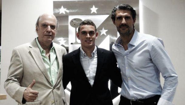 Rafael Santos Borré oficializó su vinculación con el Atlético de Madrid